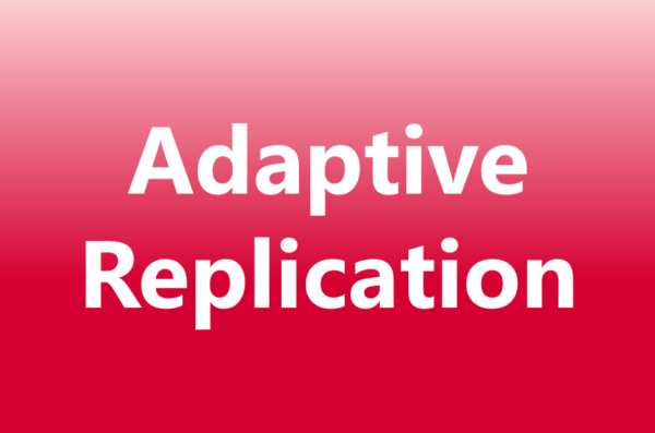 adaptive replication